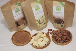 Kakaopulber, kakaovõi ja kakaooad